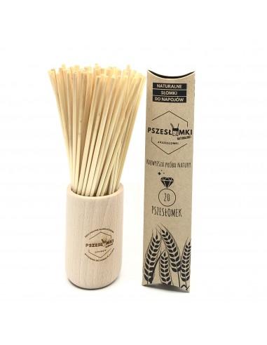 Słomki ekologiczne 20x20 sztuk (multipak)