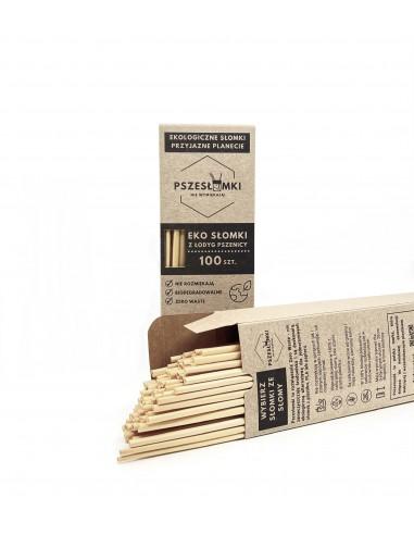 Słomki ekologiczne 20x50 sztuk (multipak)